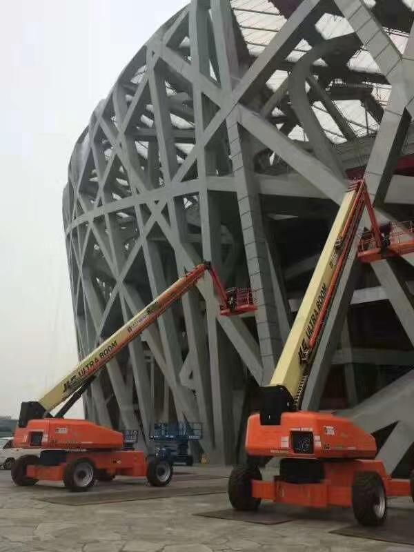 JLG直臂式高空作业平台在国家体育场的应用