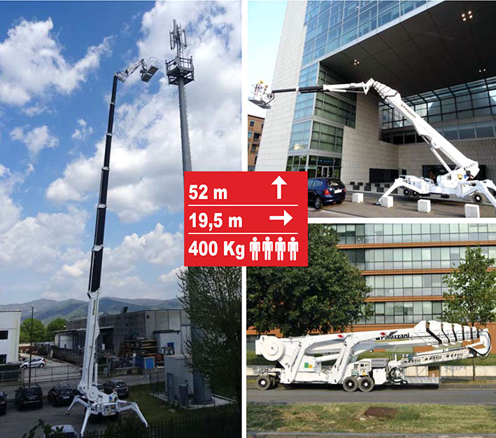 XTJ52蜘蛛式高空作業平臺