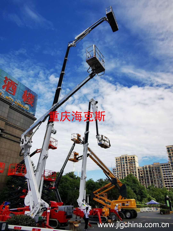 Palazzani携多款蜘蛛车参加第四届高空作业平台租赁大会